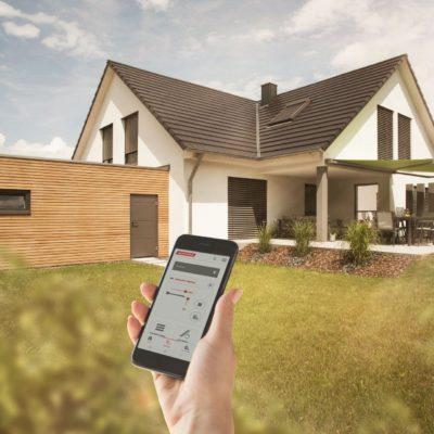 WAREMA Mobile System (WMS) Handysteuerung