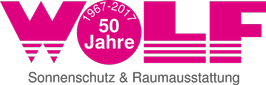 Das Logo von Wolf Sonnenschutz & Raumausstattung in Nürnberg